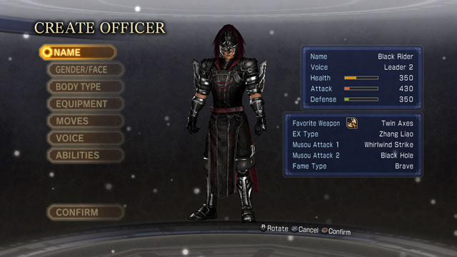 Black Rider Screenshot 1
