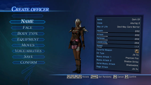 Dark Elf (Female) Screenshot 1