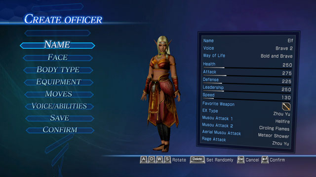 Elf (Female) Screenshot 1