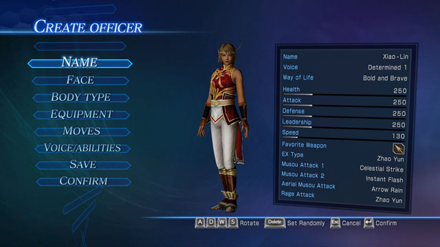 Su Xiao-Lin (Dynasty Warriors) Screenshot 1