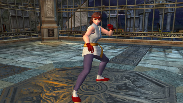 Yuri Sakazaki Screenshot 1