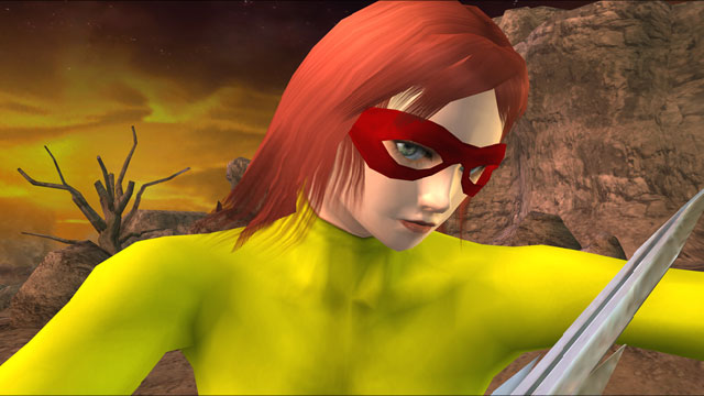 "Firestar (Angelica ""Angel"" Jones) Screenshot 2"