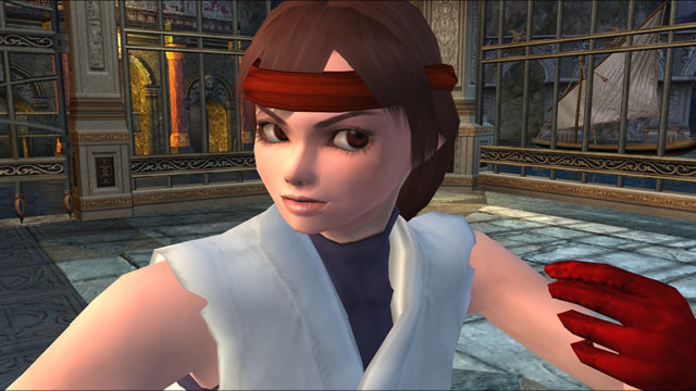 Yuri Sakazaki Screenshot 2
