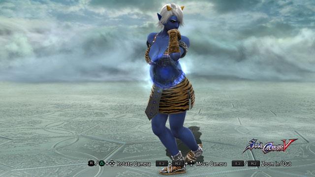 Blue Oni (Female) Screenshot 1