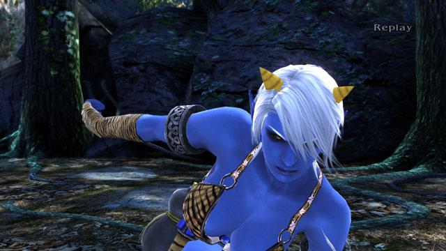 Blue Oni (Female) Screenshot 6