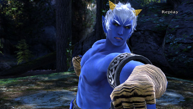 Blue Oni (Male) Screenshot 6