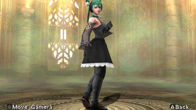 Hatsune Miku Screenshot 1