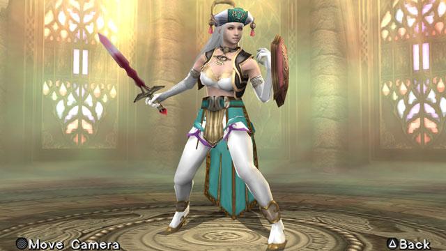 Nuwa (Warriors Orochi 2) Screenshot 1