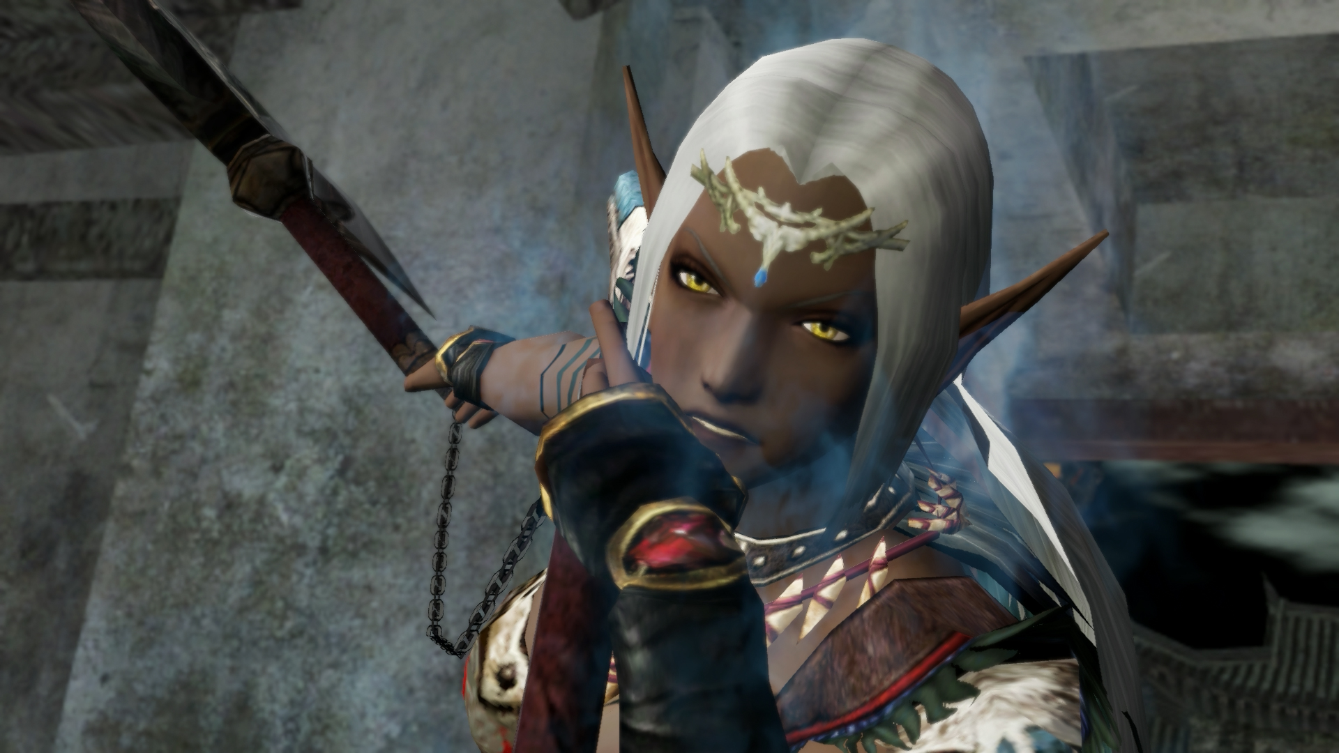 Dark Elf Female Another Stage Of History