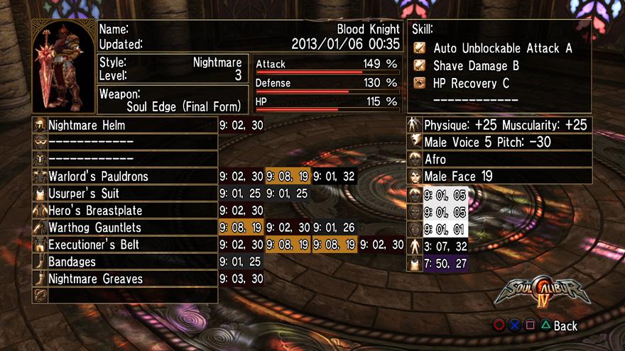 Blood Knight Formula