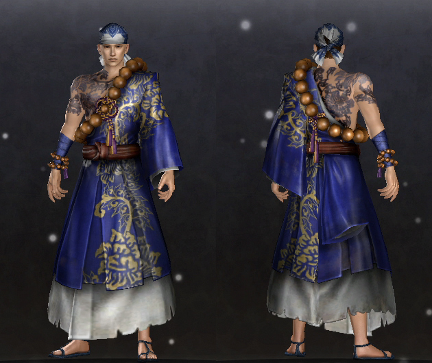 Flowery Monk set