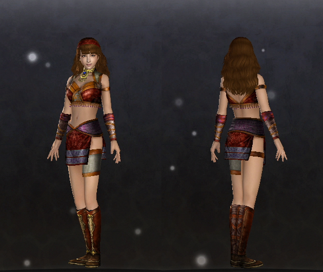 Silken Warrior set