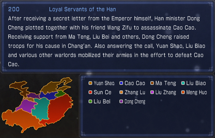 Loyal Servants of the Han (what if)