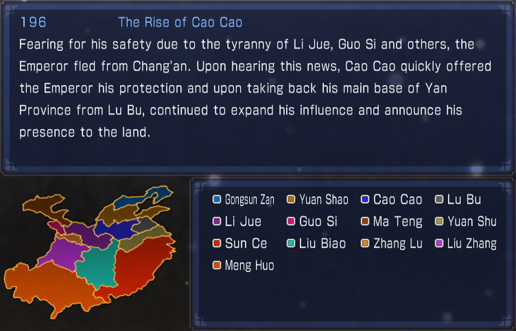 The Rise of Cao Cao (historic)
