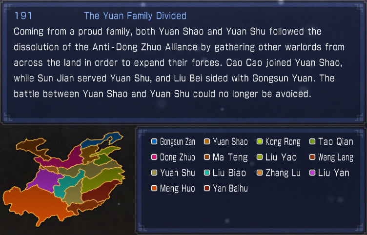 The Yuan Family Divided (what if)