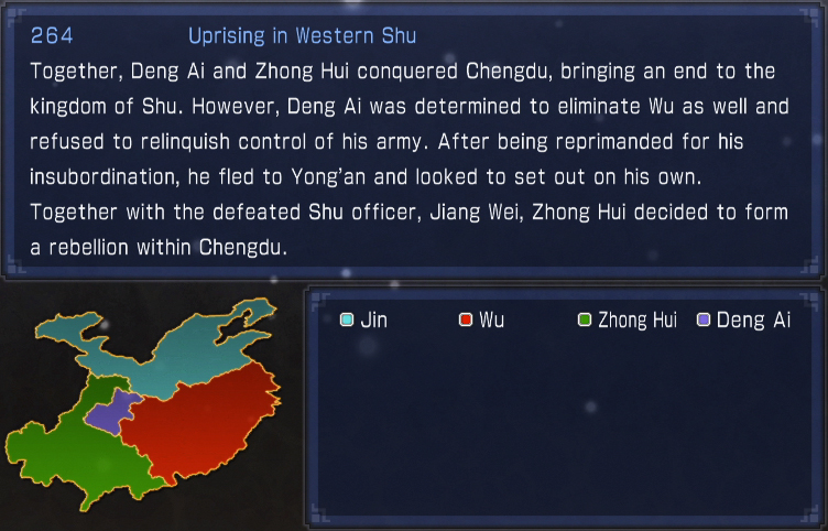Uprising in Western Shu (what if)
