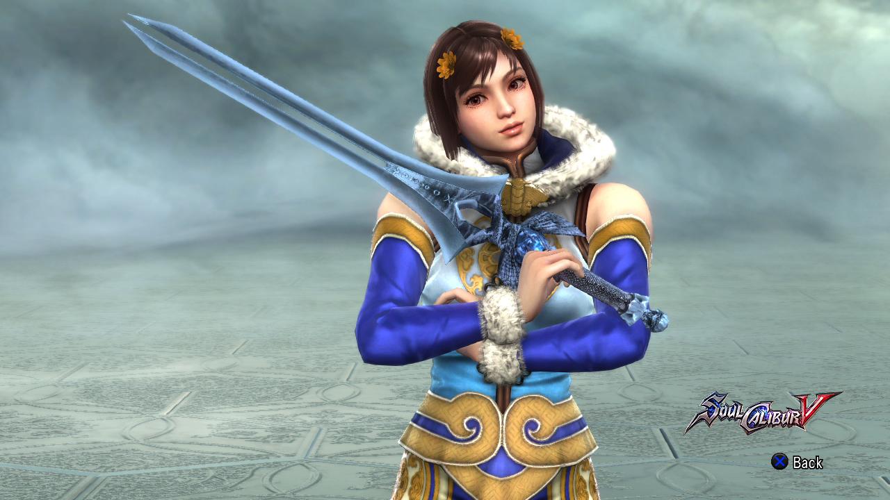 Leixia's Soul Calibur.