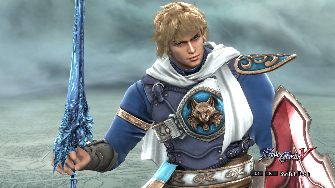 Patroklos's 9th is Soul Calibur and Arcadia Shield, which can only be used during story mode.