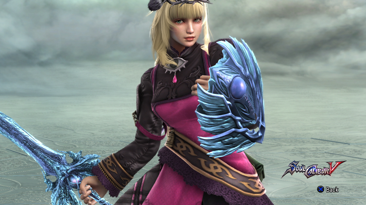 Pyrrha's Soul Calibur.