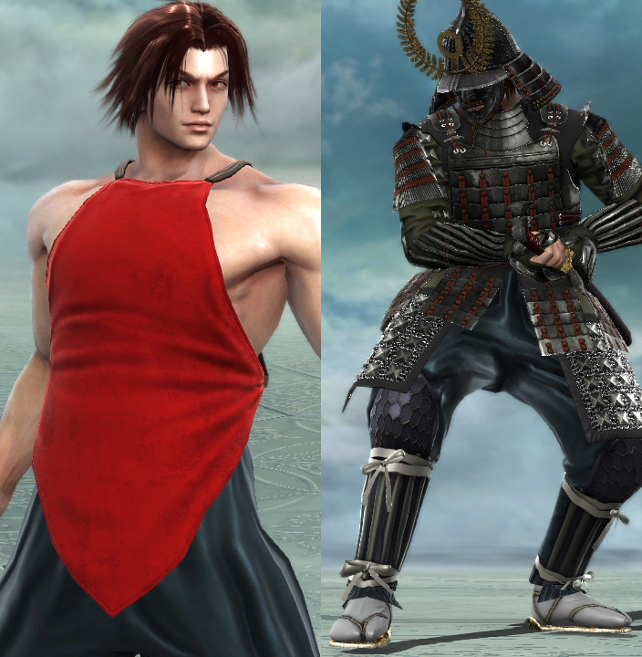 Kintaro's Apron and Samurai Set. Both tops are Upper Body items. Go figure.